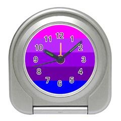Transgender Flag Travel Alarm Clocks
