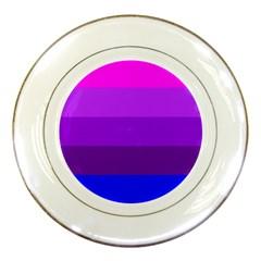 Transgender Flag Porcelain Plates
