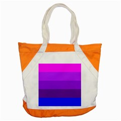 Transgender Flag Accent Tote Bag