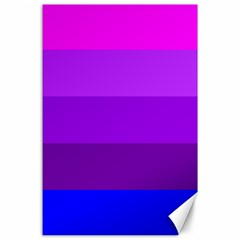 Transgender Flag Canvas 24  x 36