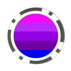 Transgender Flag Poker Chip Card Guards (10 pack)