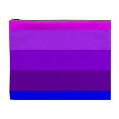 Transgender Flag Cosmetic Bag (XL)