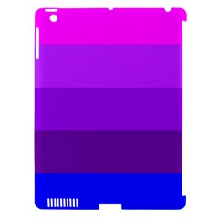 Transgender Flag Apple iPad 3/4 Hardshell Case (Compatible with Smart Cover)