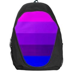 Transgender Flag Backpack Bag