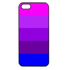 Transgender Flag Apple iPhone 5 Seamless Case (Black)