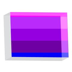 Transgender Flag 5 x 7  Acrylic Photo Blocks