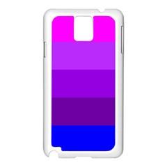 Transgender Flag Samsung Galaxy Note 3 N9005 Case (White)