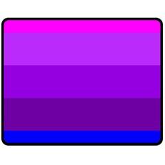 Transgender Flag Double Sided Fleece Blanket (Medium)