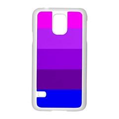Transgender Flag Samsung Galaxy S5 Case (White)
