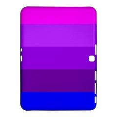Transgender Flag Samsung Galaxy Tab 4 (10.1 ) Hardshell Case