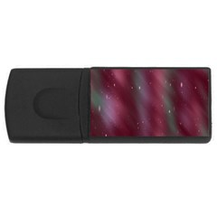 Stars Nebula Universe Artistic USB Flash Drive Rectangular (1 GB)