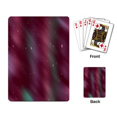 Stars Nebula Universe Artistic Playing Card