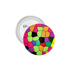 Stained Glass Abstract Background 1.75  Buttons