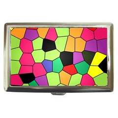 Stained Glass Abstract Background Cigarette Money Cases