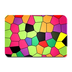 Stained Glass Abstract Background Plate Mats