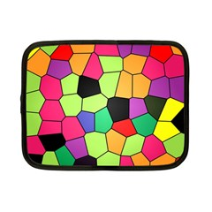 Stained Glass Abstract Background Netbook Case (Small)