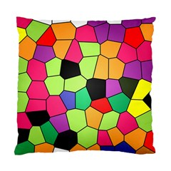 Stained Glass Abstract Background Standard Cushion Case (One Side)