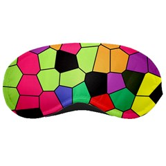 Stained Glass Abstract Background Sleeping Masks