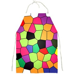 Stained Glass Abstract Background Full Print Aprons