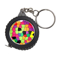 Stained Glass Abstract Background Measuring Tapes