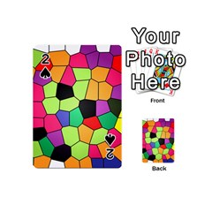 Stained Glass Abstract Background Playing Cards 54 (Mini)