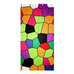 Stained Glass Abstract Background Shower Curtain 36  x 72  (Stall)