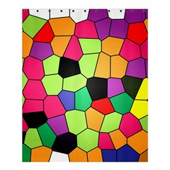 Stained Glass Abstract Background Shower Curtain 60  x 72  (Medium)