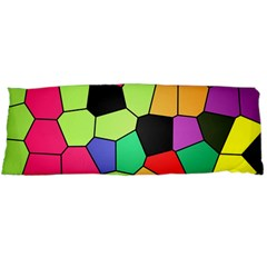 Stained Glass Abstract Background Body Pillow Case Dakimakura (Two Sides)