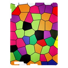 Stained Glass Abstract Background Apple iPad 3/4 Hardshell Case