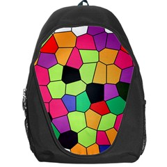 Stained Glass Abstract Background Backpack Bag