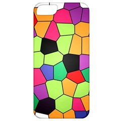 Stained Glass Abstract Background Apple iPhone 5 Classic Hardshell Case