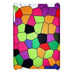 Stained Glass Abstract Background Apple iPad Mini Hardshell Case