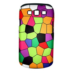 Stained Glass Abstract Background Samsung Galaxy S III Classic Hardshell Case (PC+Silicone)