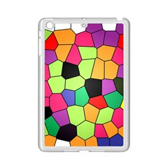 Stained Glass Abstract Background iPad Mini 2 Enamel Coated Cases