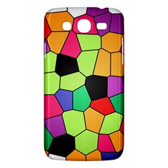 Stained Glass Abstract Background Samsung Galaxy Mega 5.8 I9152 Hardshell Case