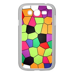 Stained Glass Abstract Background Samsung Galaxy Grand DUOS I9082 Case (White)