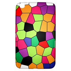 Stained Glass Abstract Background Samsung Galaxy Tab 3 (8 ) T3100 Hardshell Case