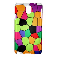 Stained Glass Abstract Background Samsung Galaxy Note 3 N9005 Hardshell Case