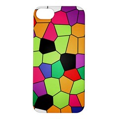 Stained Glass Abstract Background Apple iPhone 5S/ SE Hardshell Case