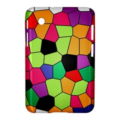 Stained Glass Abstract Background Samsung Galaxy Tab 2 (7 ) P3100 Hardshell Case