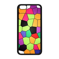 Stained Glass Abstract Background Apple iPhone 5C Seamless Case (Black)