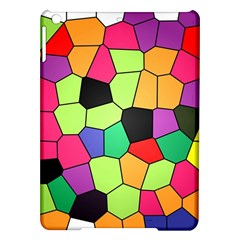 Stained Glass Abstract Background iPad Air Hardshell Cases
