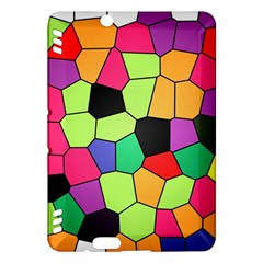 Stained Glass Abstract Background Kindle Fire HDX Hardshell Case