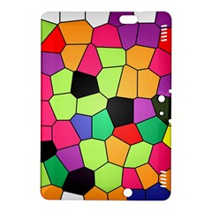 Stained Glass Abstract Background Kindle Fire HDX 8.9  Hardshell Case