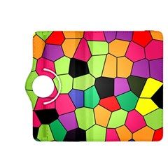 Stained Glass Abstract Background Kindle Fire HDX 8.9  Flip 360 Case
