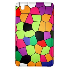 Stained Glass Abstract Background Samsung Galaxy Tab Pro 8.4 Hardshell Case