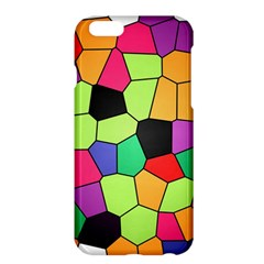 Stained Glass Abstract Background Apple iPhone 6 Plus/6S Plus Hardshell Case