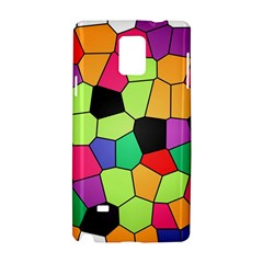 Stained Glass Abstract Background Samsung Galaxy Note 4 Hardshell Case