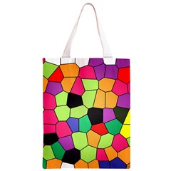 Stained Glass Abstract Background Classic Light Tote Bag