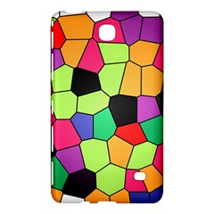 Stained Glass Abstract Background Samsung Galaxy Tab 4 (8 ) Hardshell Case